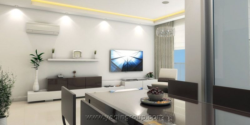 Luxury Penthouses for sale in instalment payment in Alanya