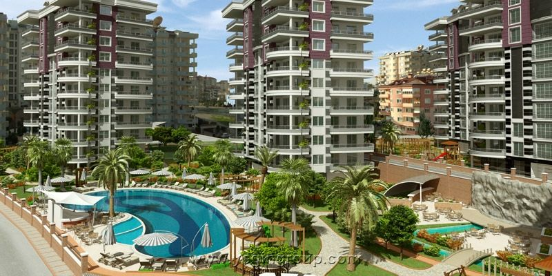 For sale special 3 bedroom apartment in Alanya