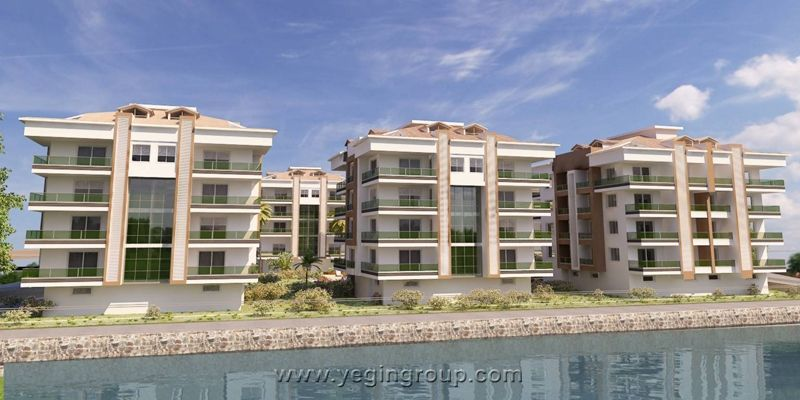 For sale luxury apartments in Oba in Alanya