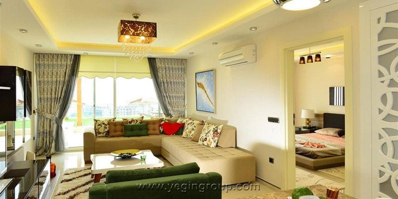 For sale Detached lux Villa in a luxury housing complex in Alanya