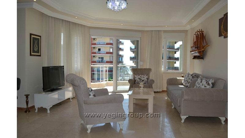 Sea Front 3 Bedroom Apartment in Mahmutlar