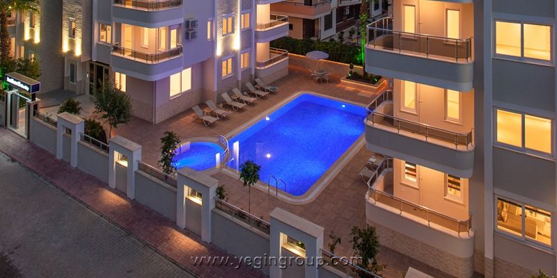 For sale studio 1  2 bedroom apartments near the sea in Alanya