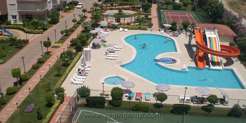 For sale 2 bedroom apartment in a Secure Housing Complex in Alanya