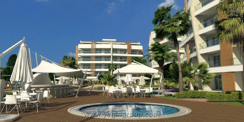 For sale luxury apartments in Alanya