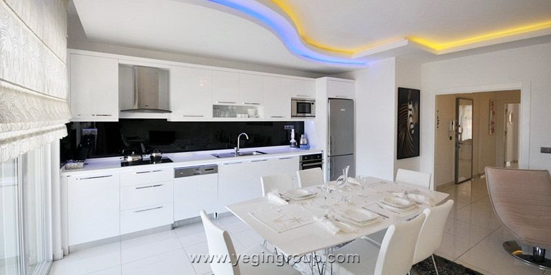 For sale luxury penthouses with Sea  City view in Alanya