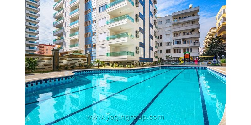 For Sale Furnished Apartment Alanya Mahmutlar