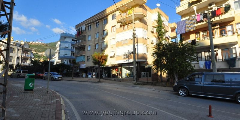 For rent 3 bedroom apartment in Alanya centre