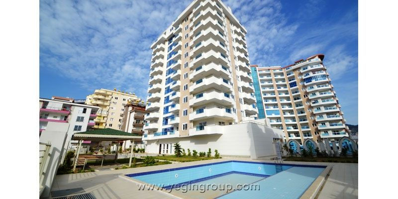 For Sale 1+1 Furnished Apartment in Mahmutlar Alanya