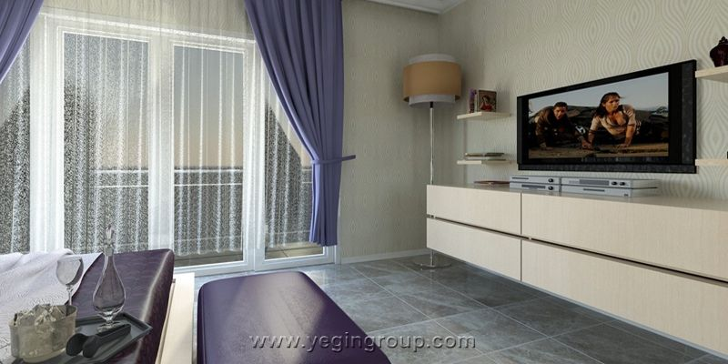 For sale luxury apartmentan terrace houses in Alanya