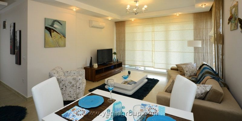 For sale luxury apartments close the centre in Alanya